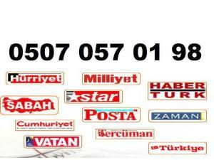 adana gazete ilan bürosu servisi aladağ ceyhan çukurova feke imamoğlu karaisalı karataş kozan